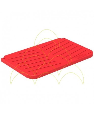 Nesting box for chickens plastic: Tray deposit cover