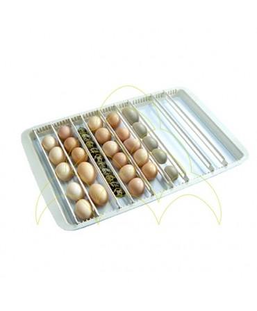 Rcom 50 Max: Tabuleiro Universal com ovos