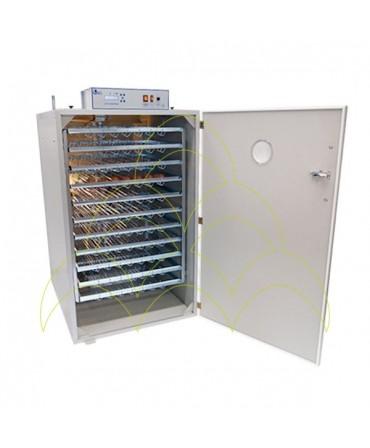 FIEM MG 1000S Maxi Pro - LCD Display: Com tabuleiros metálicos para incubação de ovos