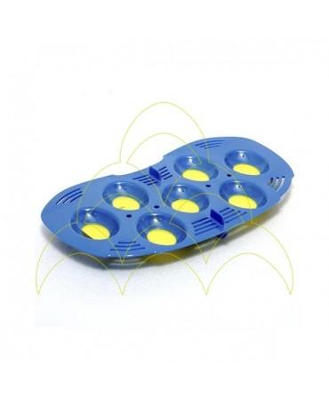 Tabuleiro Mini - Rcom: Para 7 ovos pequenos de codorniz