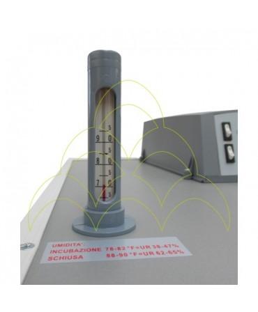 FIEM MG 316 Neptunus Auto - LCD Display: Higrómetro de Bulbo Húmido