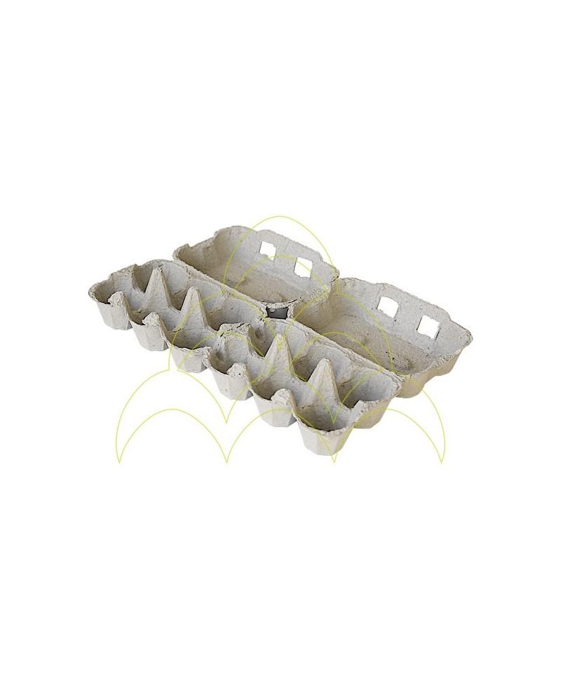 Embalagem em Cartão - Ovos de Galinha: Aberta