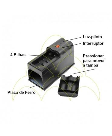 Ratoeira Electrónica - Com Transformador: Características