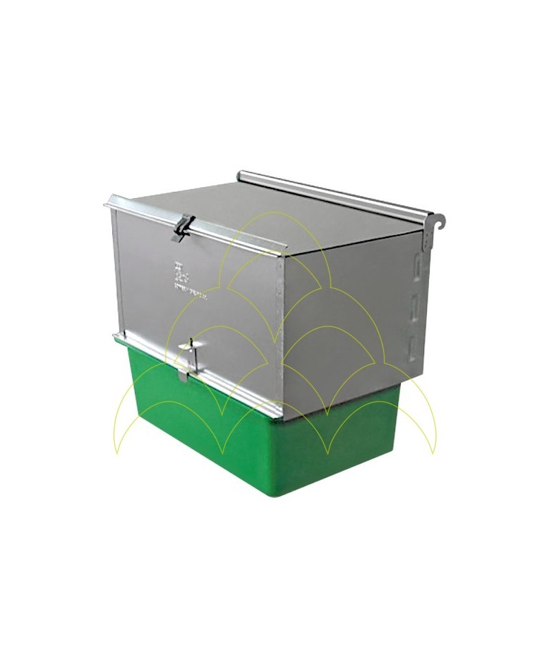 Outdoor Cradle Nest Box - For Rabbit Cages