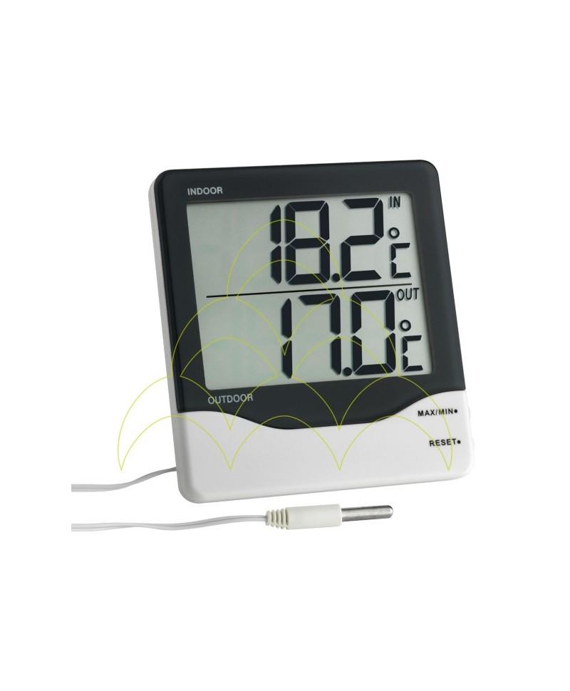 Termómetro - Com Display Digital