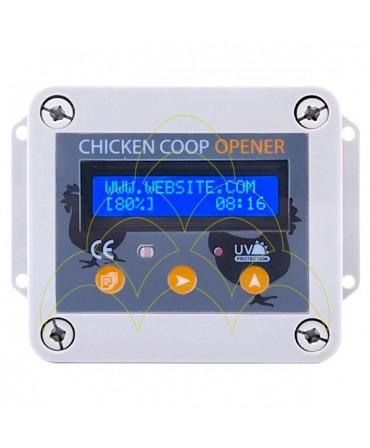 Controlador PREMIUM - Para Abertura de Porta Automática: vista de frente