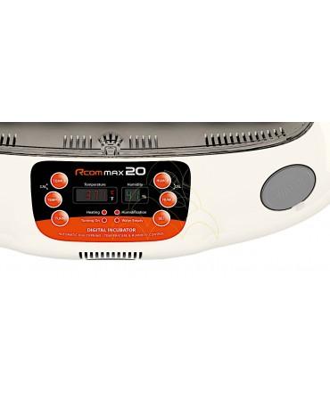 Rcom 20 Max: Mostrador FND (Flexible numeric display)
