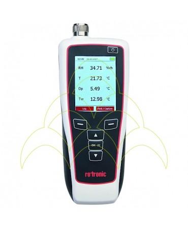 Termo-Higrómetro ROTRONIC HP32 - Com Sonda e Cabo