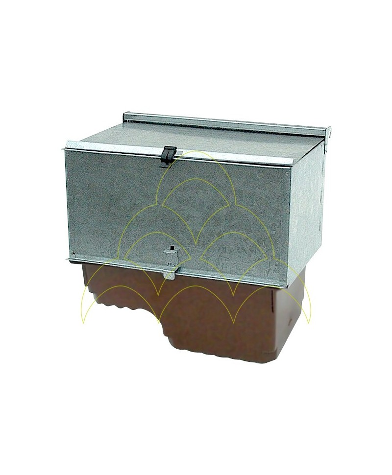 Outdoor Cradle Nest Box - 2 Height Tray - For Rabbits