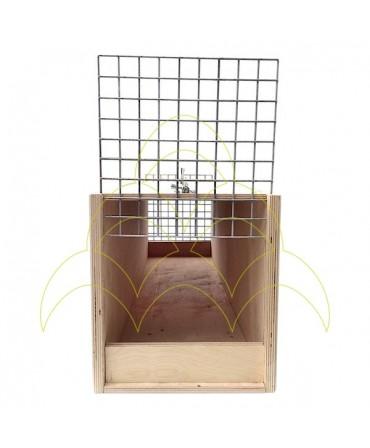 Transportadora - Para Araras - 90cm: Entrada com porta aberta