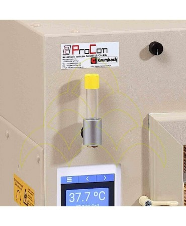 GRUMBACH LCD 8015/ CTD7 S84: Sight glass for tank level control; Regulation of air humidity