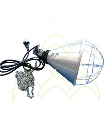 Refletor de alumínio com proteção