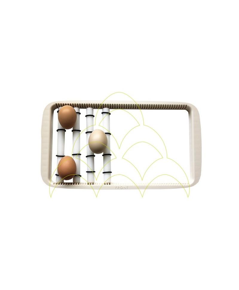 Rolo para Rcom 20: Tabuleiro Universal com rolos e 3 ovos