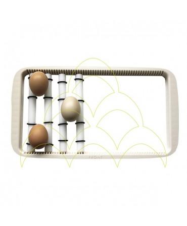 KIT - Rolos - Rcom 20: Tabuleiro Universal com rolos e 3 ovos