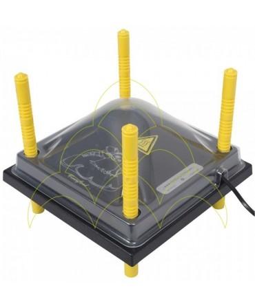 Cobertura de plástico para placa de aq. 30x30