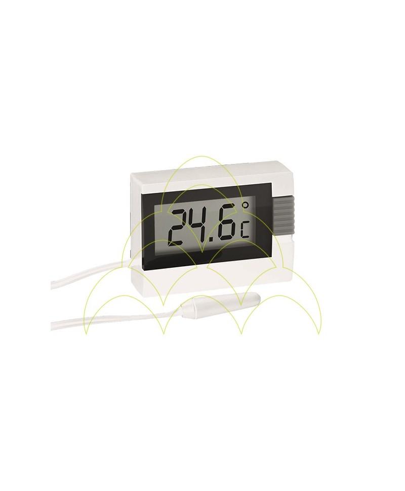 Termómetro Digital - Branco - Com Sonda