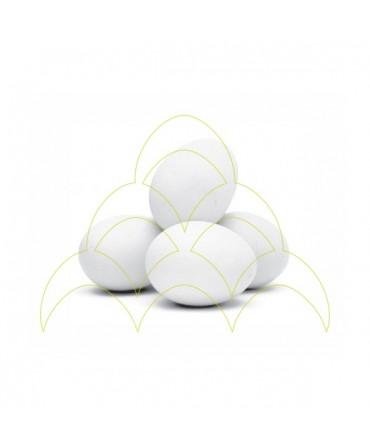 Ovos em cerâmica - Galinha