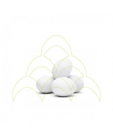 Ovos em cerâmica - Pombo