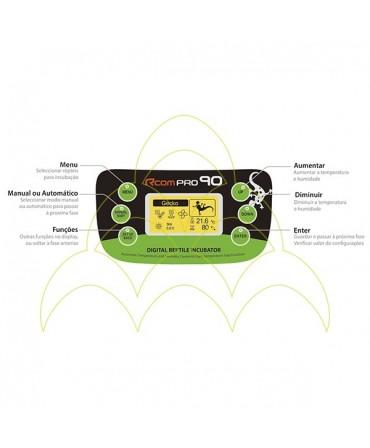 Rcom 90 Pro: Interface