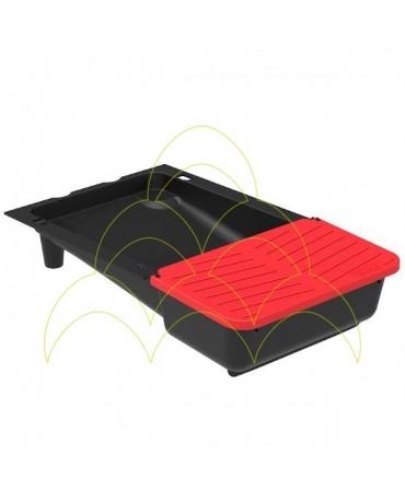 Nesting box for chickens galvanized: Tray